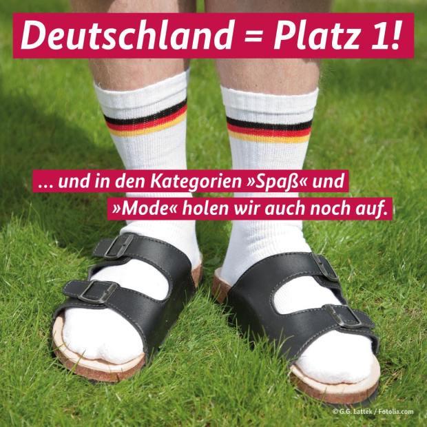 """Germania = 1° Posto! … recupereremo nelle categorie """"Divertimento"""" e """"Moda""""."""